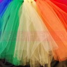 'ORIGINAL RAINBOW' youth girls tutu