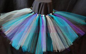'SEA MIST' teen girls tutu