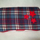 Custom Baby Wipes TRAVEL Case | PLAID STARS