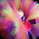 'AMANDA' youth girls bows 'n bling tutu
