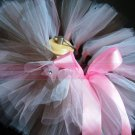 'RAE' youth girls bows 'n bling tutu