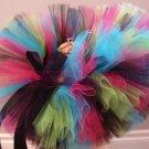 'PHOENIX' baby girls bows 'n bling tutu