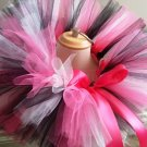 'MONICA' youth girls bows 'n bling tutu