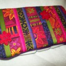 Custom Baby Wipes TRAVEL Case | ABSTRACT FLOWERS