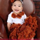 BROWN SUGAR  | rosette onesie
