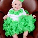 HARLEQUIN GREEN | Infant PettiSkirt