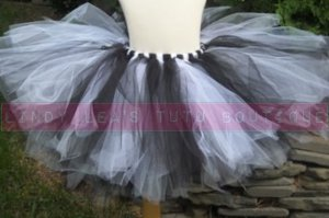 BLACK & WHITE| baby girls tutu
