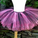 PURPLE & BLACK | baby girls tutu