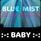 BLUE MIST | baby girls tutu