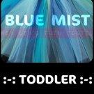 BLUE MIST   toddler girls tutu