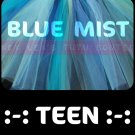BLUE MIST | teen girls tutu
