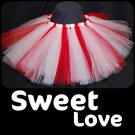 'SWEET LOVE' baby girls tutu
