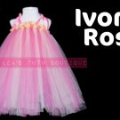'IVORY & ROSE' | TODDLER girls special occasion tutu dress