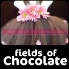 FIELDS of CHOCOLATE | baby girls tutu dress