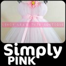 SIMPLY PINK | TODDLER girls special occasion tutu dress