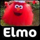 'ELMO' TODDLER girls special costume tutu dress