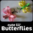 BUTTERFLY -2- | Set of 2 CLIPPIES