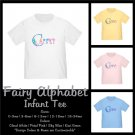 FAIRY ALPHABET | personalizable infant tee