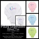 FAIRY ALPHABET | personalizable infant long sleeve tee