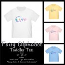 FAIRY ALPHABET | personalizable toddler tee