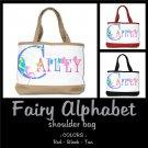 FAIRY ALPHABET | personalizable shoulder bag