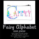 FAIRY ALPHABET | personalizable coin purse