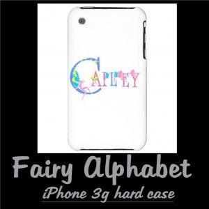 FAIRY ALPHABET | personalizable iPhone 3g hard case