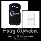 FAIRY ALPHABET | personalizable Nexus S phone case