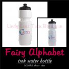 FAIRY ALPHABET | personalizable trek water bottle