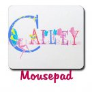 FAIRY ALPHABET | personalizable mousepad