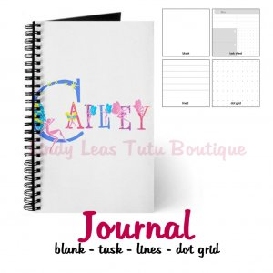 FAIRY ALPHABET | personalizable journal