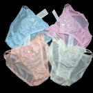 ST2 >> LOT OF 4 SHEER NYLON STRING BIKINI PANTIES, Panty Hip 30-34 INCH