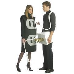 Plug & Socket Adult Costume...???!!!
