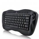 Wireless Keyboard With Trackball - QWERTY, Internet + Media Hotkeys, PC + Mac