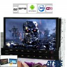 """In-Dash Car DVD """"Road Terminator"""" - Detachable Android Tablet, GPS, 3G, WiFi, ATSC (2 DIN)"""