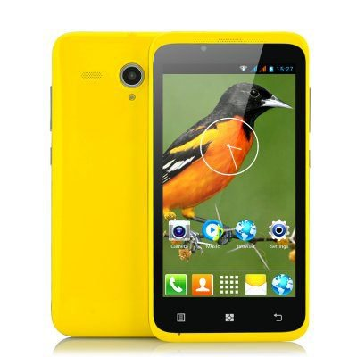 "4.5"" Budget Android 4.2  GPS Phone ""Yellow-Bird"" - 1.3GHz Dual Core CPU."