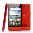 "4 Inch Budget Android 2.3 Phone ""Cubot C9"" - Unlocked Dual SIM, 800x480 (Red)."