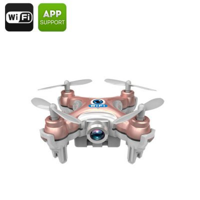 Mini Drone Android + iOS Support- 2.4GHz Wi-Fi Control, 30M Range, 6-Axis Stabilizing Gyro