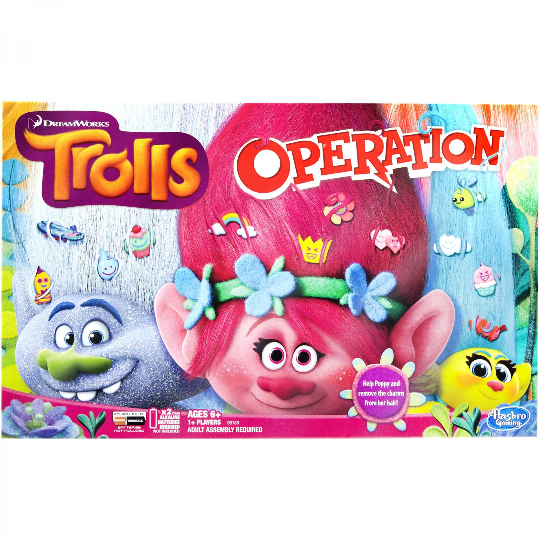 DreamWorks Trolls Edition Operation Game: