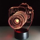 3D Camera Led Lamp. 7 LED Colors. Great for anybody who loves photography