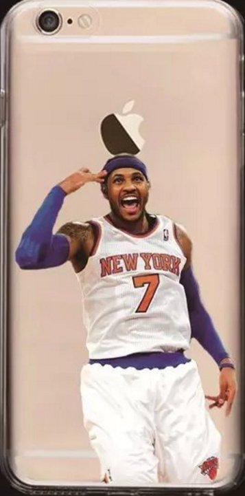 Soft NBA Cell Phone Cases Fits Iphone 6 and Iphone 7. **Carmelo Anthony**