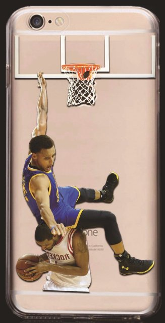 Soft NBA Cell Phone Cases Fits Iphone 6 and Iphone 7. **Stephen Curry**