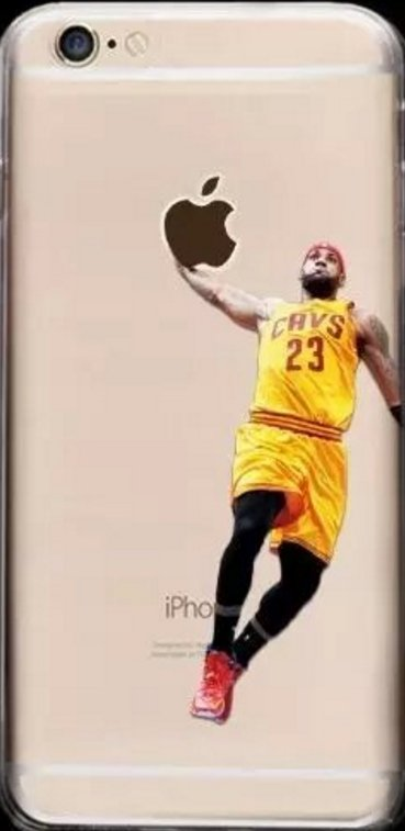 Soft NBA Cell Phone Cases Fits Iphone 6 and Iphone 7. **King L. James**