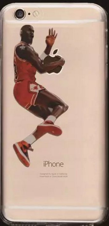 Soft NBA Cell Phone Cases Fits iPhone 6 and iPhone 7. **Jordan NBA**