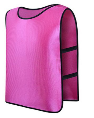 **Hot Pink** Scrimmage Vest For Football, Soccer, Basketball, and more. Small size for Kids.