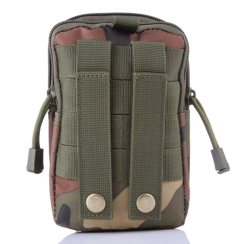 Woodland Military Inspired Bag. Compatible with Various Cell Phones, Knives, Flashlights,...