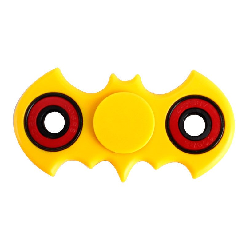 Batman Shaped Fidget Hand Spinner.Collect All Of The Fidget Friends.