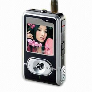 "T5 - 1.5"" Fashion Design MP4 Player (T5) 128MB"