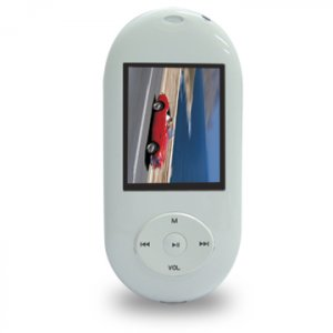 "MP-169R   - Flash MP4 Player (1.5"" / 1.8"" 65K Full Color Display      4GB"