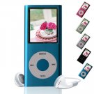 MP-169NS FLASH MP3 PLAYER (Ipod Nano second generation) MP4  2GB